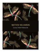 Matthew Williamson Dragonflies and Hummingbirds Foiled Notecards