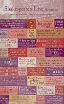 Shakespearean Quotations Magnet Set