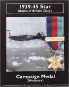 Miniature 1939-45 Star Battle of Britain Clasp