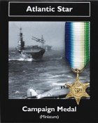 Miniature Atlantic Star Medal