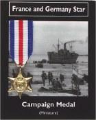 France & Germany Star Atlantic Medal