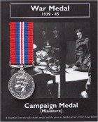 Miniature Camapign Medal 1939-45