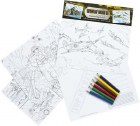 World War II Educational Colouring Cards