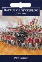 Waterloo Cavalry Pin Badge
