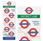 District Line Magnetic Page Markers