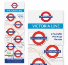 Victoria Line Magnetic Page Markers