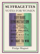 Great Suffragette Demonstration Poster Fridge Magnet