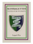 Suffragettes Lapel Pin