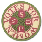 WSPU Button Badge