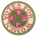 WSPU Votes For Women Coaster