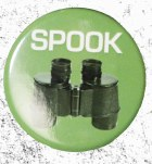 Spook Button Badge