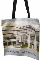 The National Archives Building Tote Bag