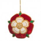 Tudor Rose Tree Decoration