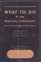 What To Do In Any Wartime Emergency