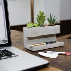 Concrete Large Planter and Pen Holder