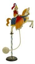 Medieval Princess Balance Sculpture