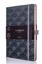 Castelli Art Deco Copper Notebook