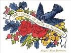 Literary Love Embellished Notecards