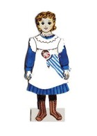 Victorian Dress Up Paper Doll