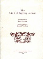 The A-Z of Regency London