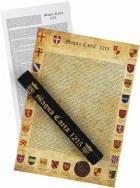 Facsimile Magna Carta