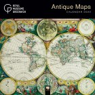 Antique Maps Wall Calendar 2020
