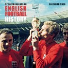2020 Great Moments in English Football Wall Calendar