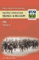 Official History of the Great War Military Operations France & Belgium 1916 Volume 2