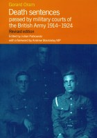 Death Sentences Passed by the Military Courts of the British Army 1914-1924