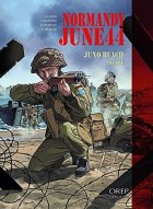 Normandy June 44 Juno Beach Graphic Novel