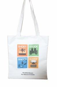 Snoop, Shoot, Spook, Scoop Tote Bag