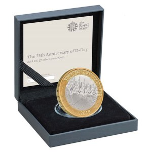 D-Day 75 £2 Silver Proof Coin