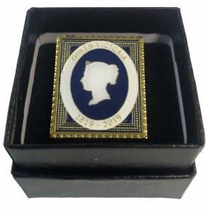 Queen Victoria 200th Anniversary Pin