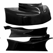 "JKB FIBERGLASS BODY KIT 40 1/2"" BLACK"