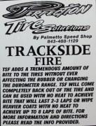 TRACKSIDE DRY/FIRE QT