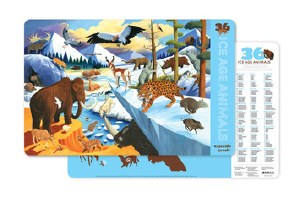 Placemat: 36 Ice Age