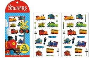 Toy Train Stickers