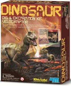 Dig a Velociraptor