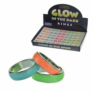 Glow-in-the-Dark Band Rings