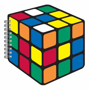 Rubik's Cube Bubblegum Journal