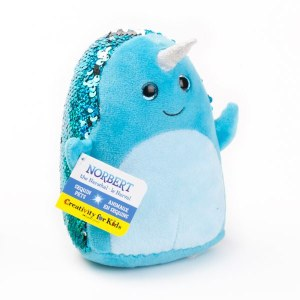 Mini Sequin Pets: Norbert the Narwhal