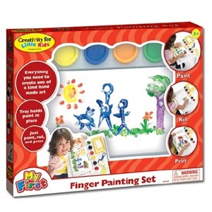 *My First Finger Painting Set
