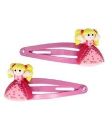 Pretty Pink Princess Hairclips