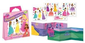 Princess Sticker Tote