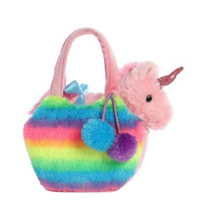 Rainbow Unicorn Pet Carrier
