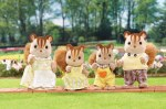 Hazelnut Chipmunk Family