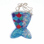 Mermaid Reversible Sequin Crossbody Bag