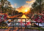 Bicycles in Amersterdam 1000pc