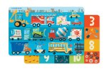 Placemat: Busy City