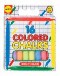 16 Colored Chalks